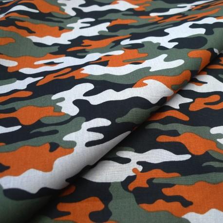 Coton Camouflage tomette