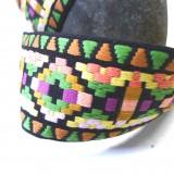 Sangle jacquard Cuzco vert
