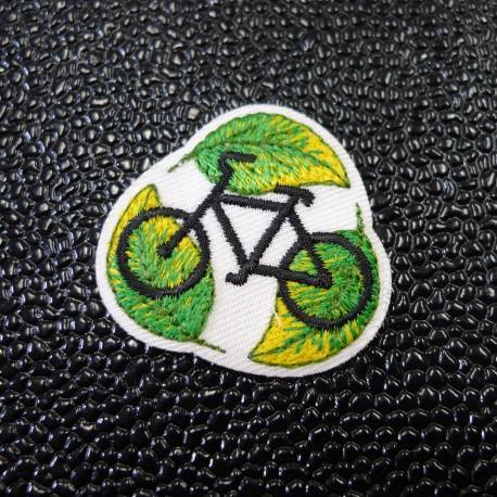 Ecusson brodé Vélo écolo