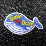 Ecusson brodé Save our Ocean