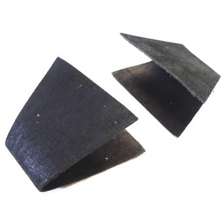 Lot languettes Java Small cuir noir