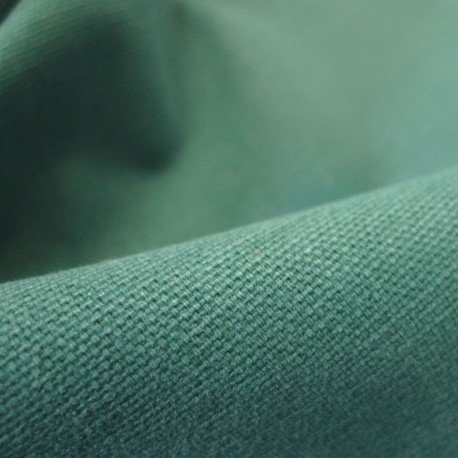 Coton vintage émeraude