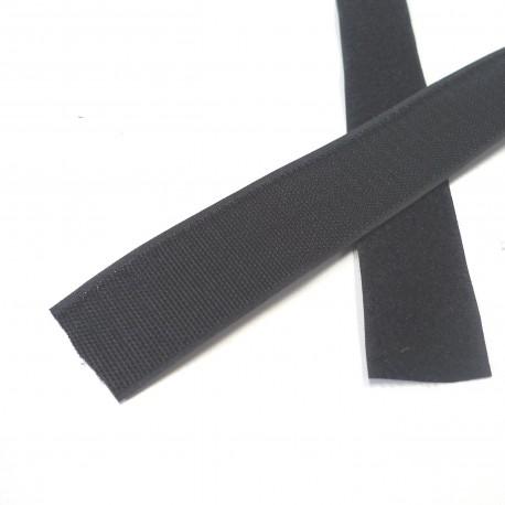 Velcro noir 50 mm