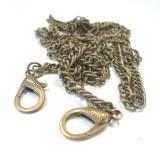 Chaine de sac amovible goutte bronze