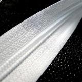 Zip grosse spirale blanche au 10 cm