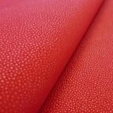 Simili Soft Galuchat Rouge