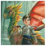 Coupon illustré Me and My Dragon