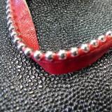 Passepoil simili Perles rouge