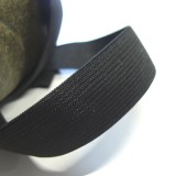 Elastique standard noir 25 mm