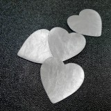 Coeur simili Pixar argent