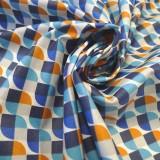 Enduit Coton Palladium blue