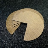 Coins de sacs simili Loft 3D or antique brossé