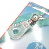 Tirette zip goutte transparent