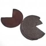 Coins de sacs cuir Serpent brown