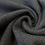 Tweed chevrons 3D noir