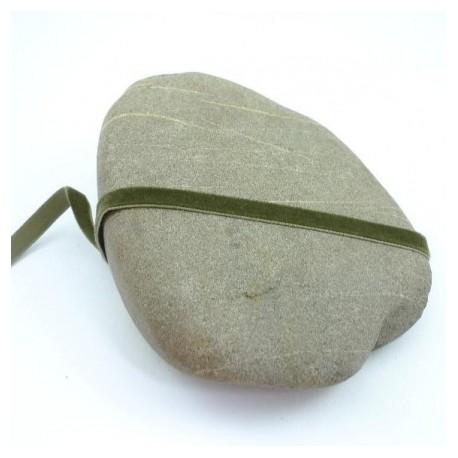 Ruban velours vert anglais 9 mm