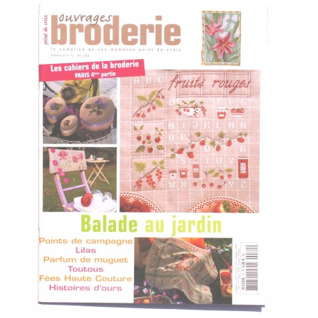 Magazine point de croix, ouvrages broderie n°70 mai 2006 - Re-used