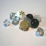 Lot de boutons bijoux