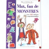 Livre Max, fan de monstres