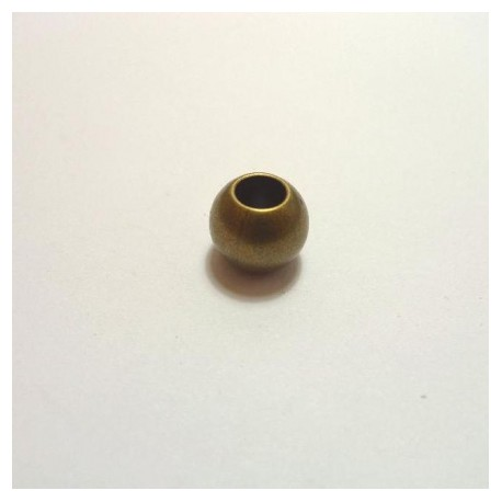 Perle ronde bronze 10 mm