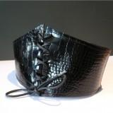 Tutoriel GUEPIER ceinture cuir corset