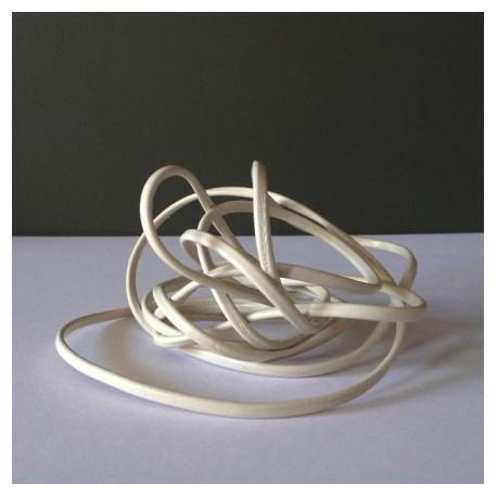 Câble électrique blanc