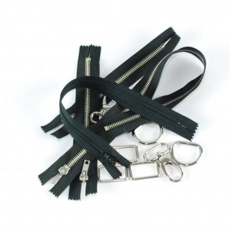 Kit fournitures Boston noir