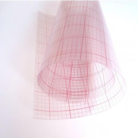 Polyphane transparente adhésif
