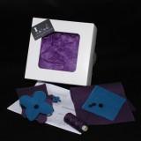 Kit couture CROCUS housse téléphone portable