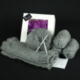 Kit tricot FRED snood homme