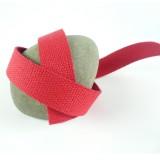 Sangle coton rouge vif