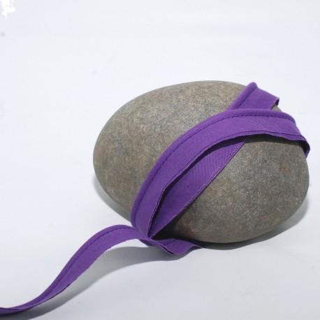Passepoil mèche violet