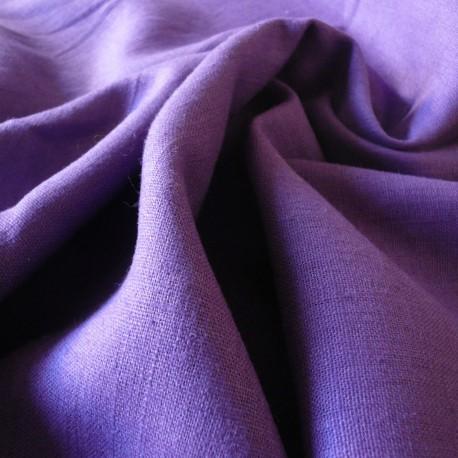 Lin lavé violet