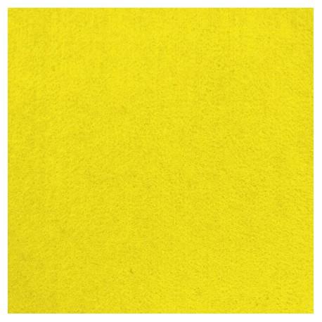 Tissu feutrine lavable jaune vif