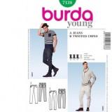 Patron robe Cousu main Burda 7602