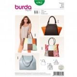 Patron sac Burda 6962