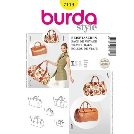 Patron sac Burda 7119