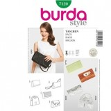 Patron pochette  Burda 7120