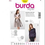 Patron robe Burda 7034