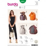 Patron sac Burda 6961