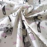 Tissu coton Moi Paris