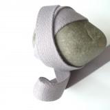 Sangle coton gris