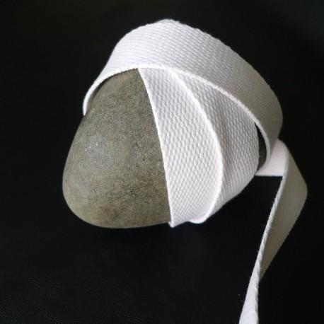 Sangle coton blanc