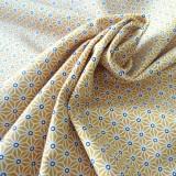 Tissu japonais Fuji jaune