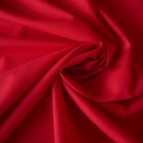 Tissu coton rouge Evira