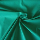 Tissu coton vert jade