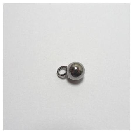 Bouton métal boule
