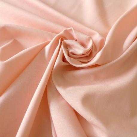 Tissu coton saumon Evira