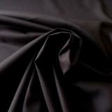 Tissu coton noir Evira
