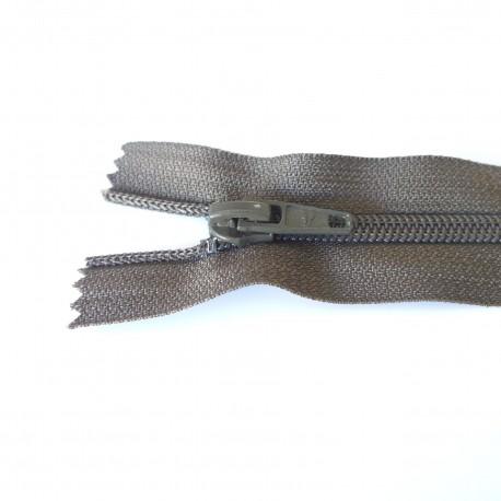 Zip spirale kaki 6 mm